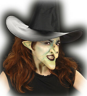 Halloween Horror Special Effect Make Up Witch Nose Ears & Chin Set Fancy Dress