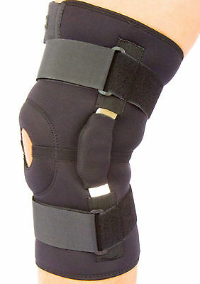 Knee Support,Splint,Brace,Strap,Hinged,Fully Adjustable,Open Patella,NHS Use
