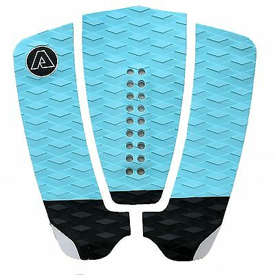 NEW SURFBOARD DECK GRIP TAIL PAD BLUE by Alies Surf Australia Quality 3M Glue