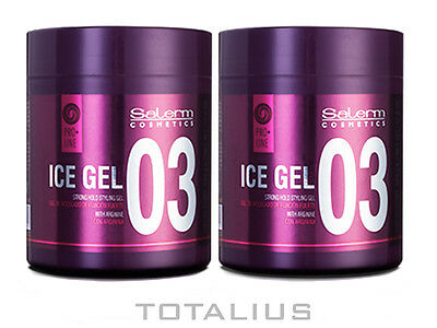SALERM ICE GEL 500 ml CERA CAPILAR - 2 UNIDADES