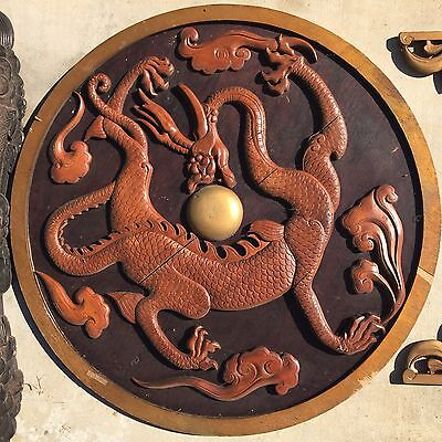 Chinese Hollywood Antique Wood Decoration