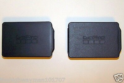 2X Genuine GoPro Extended Battery or LCD bacpac protective case