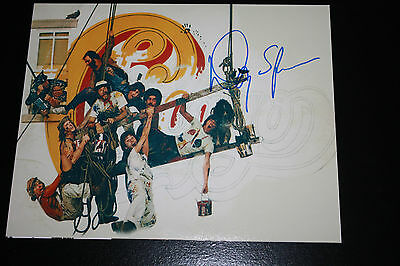 Chicago Drummer Danny Seraphine Signed 8X10 Photo Pose 2