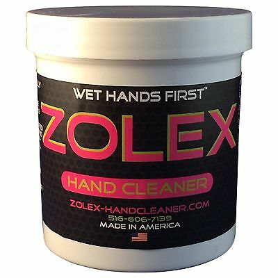 Zolex Hand Cleaner - Case of 8 - EZ Carry 3/4 lb Jar (ZL3/4LBCASE)