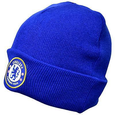 Chelsea F.c Knitted Cuff Hat(Royal)