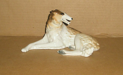 Dog figurine Borzoi/ Lomonosov