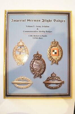 WW1 Imperial German Flight Badges Vol 1 Army Aviation Reference Book