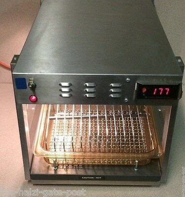 Hatco Model GRCW-1 Glow Ray Microwave Warmer with trays. 120 Volts