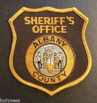 Vintage Obsolete Patch / Albany County Police / Wyoming