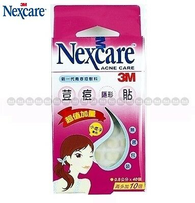 50 pcs [3M Nexcare] Acne Dressing Pimple Stickers Patch (Small)