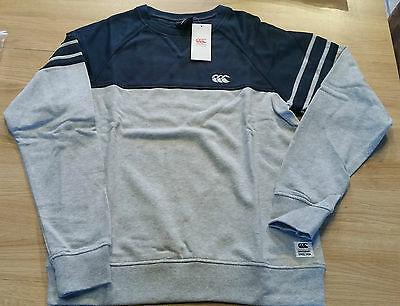 Sweat rugby Canterbury Blocked Hoody Gris / Carbone Taille L