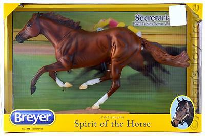 Breyer Horse 1345 Secretariat - Traditional New In Box Triple Crown Racehorse