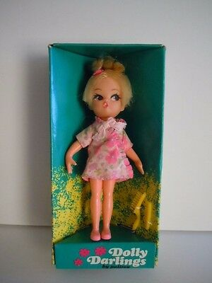 "Scarce 1967 Hasbro Dolly Darlings ""Dreamy""  # 8535 Mint With Box Hard To Find!!!"