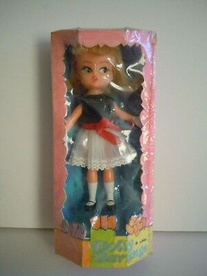 """1967 Hasbro Dolly Darlings """"Tea Time"""" PROTOTYPE Box Don Levine Collection RARE !"""