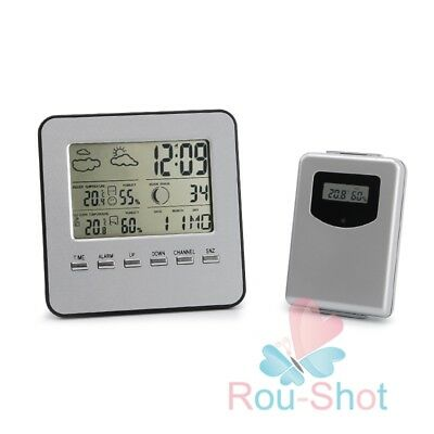 Wireless Digital LCD Indoor/Outdoor Thermometer Hygrometer Temperature Humidity