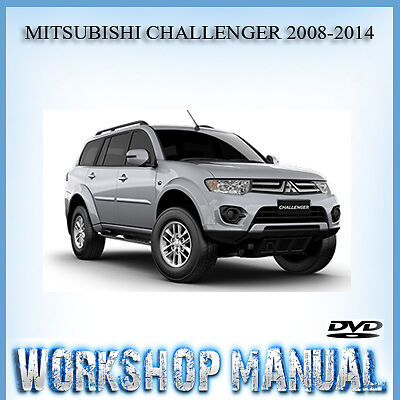Mitsubishi Challenger 2008-2014 Workshop Service Repair Manual In Disc