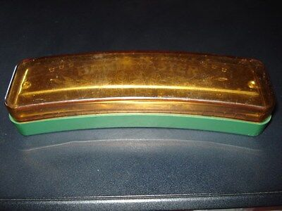 "VINTAGE OLD GERMANY BANDMASTER SUPER HARMONICA ""C"" fabrique en RDA/BOX"