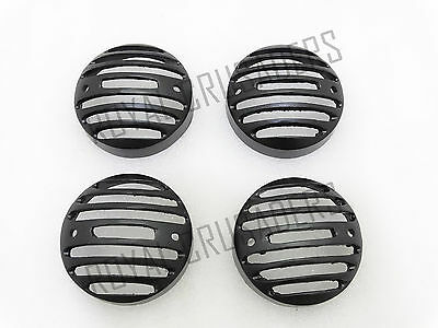 Royal Enfield Classic Front And Rear Indicator Grill Black @Justroyal