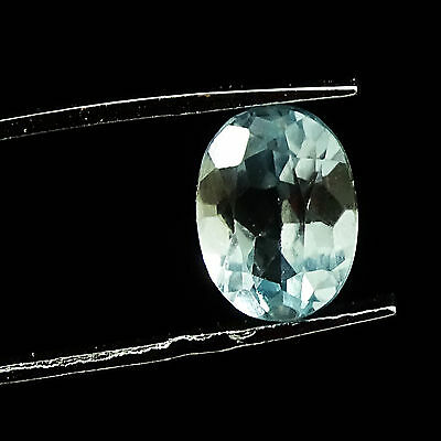 1.65 CTS 100% Natural Oval Cabochon Blue Topaz Loose Beautiful Gemstone  09X06mm