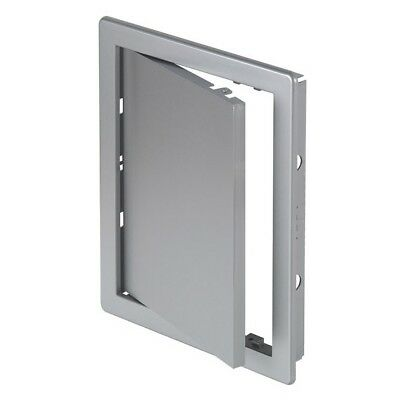 "Silver Access Panel Grey Inspection Revision Door Service Point Satin 6"" 8"" 10"""