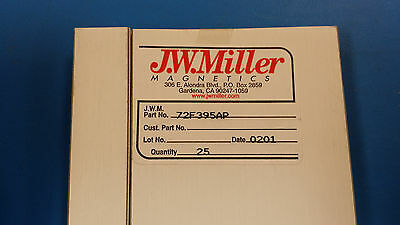 (5 PCS) 72F395AP JW MILLER RF FIXED INDUCTOR 39uH 5% AXIAL LEAD OBSOLETE