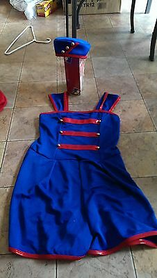 curtain call constumes patriotic soldier child xl CXL