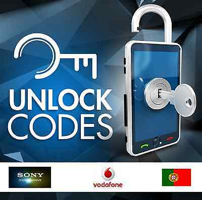UNLOCK SONY VODAFONE PORTUGAL - ALL MODELS xperia j m z u etc