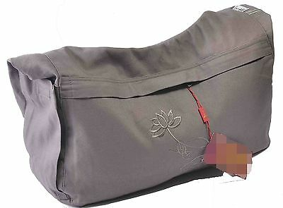 Buddhist Monk buddhism Lohan lay meditation travel big bags package gray