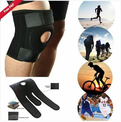 Neoprene YC Knee Support With Stays Gym Patella Protective Pad Brace Sport NHS