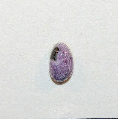 Charoite Cabochon 12x8mm from Russia with 6mm dome (9946)