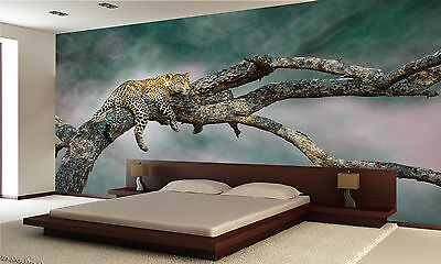 Leopard Wall Mural Photo Wallpaper GIANT DECOR Paper Poster Free Paste