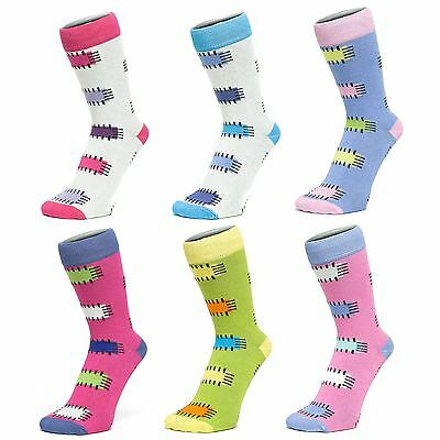 Ankle Socks With Patch Style Design (Size: 4-7)