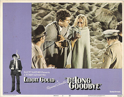 The Long Goodbye 1973 Original Movie Poster Crime Drama Thriller