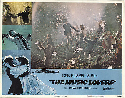 The Music Lovers 1970 Original Movie Poster Biography Drama