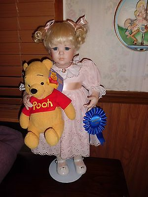 """Jeanne Singer Patience 18"""" tall porcelain  Guild doll Collection free shipping"""