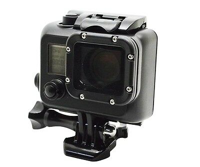 Underwater Waterproof Dive Black protective Stand Housing Case For Gopro Hero 3