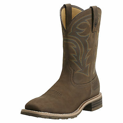 ARIAT - Men's Hybrid Rancher H2O - Oiled Distressed Brown - ( 10014067 ) - New