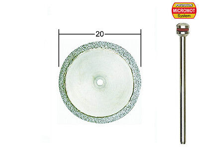 Proxxon diamond cutting disc 20mm x 0.6mm 28840