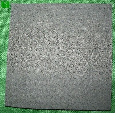 "Graphite Carbon Felt Glass Blowing 1/4"" x 5"" x 5"" Pad"