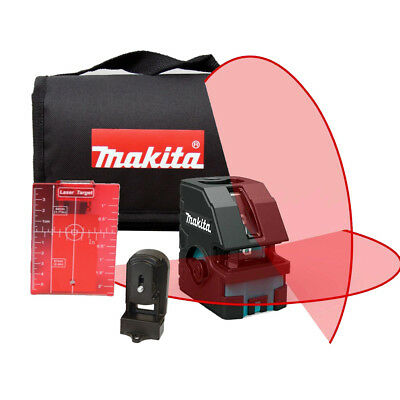 Self-Leveling Horizontal/Vertical Cross-Line Laser Makita SK104Z New