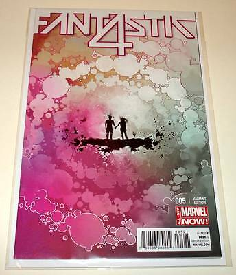 FANTASTIC 4 # 5   Marvel Comic July 2014  NM  1:25 Hickman VARIANT COVER EDITION