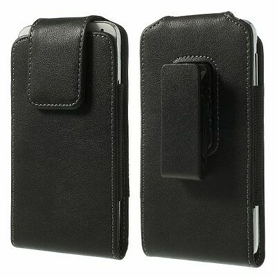 "5.5/5.7"" Mobile Phone Leather Swivel 360` Belt Clip Pouch Case Cover Holder"