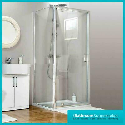 Pivot Shower Enclosure Door Side Panel Stone Tray Walk In Cubicle