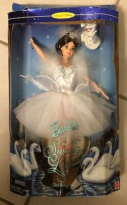 Barbie As The Swan Queen In Swan Lake Classic Ballet Series Collector Edition