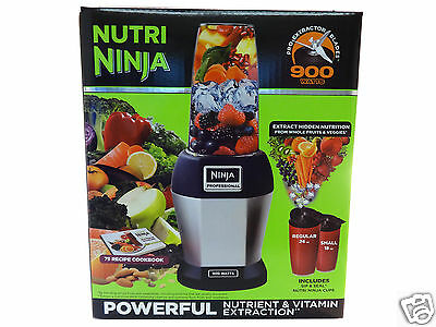 Ninja Nutri Pro BL456 900W 7 piece Set Vitamin Nutrient Extraction Blender, NEW