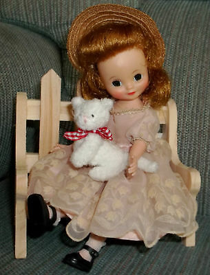 Jointed Stuffed Animal White  Kitty CAT 4 Betsy McCall