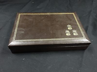 SWANK, Jewelry Box Brown Made in Sweden, Swedish Royal Guard TF