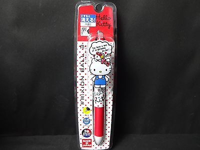 SANRIO Hello Kitty FRIXION BALLPOINT PEN 3 Color  Rub and disappear! JAPAN