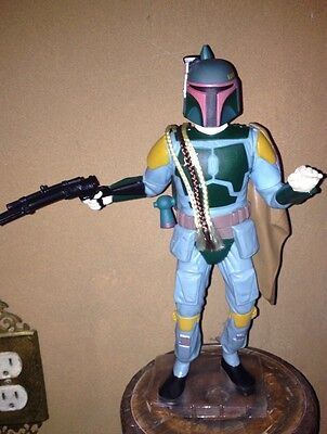 Vintage Star Wars Figurine Character Boba Pett Applause Toys