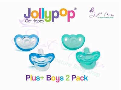 Jollypop Dummy~ the new gumdrop ~3 month plus Boys 2 pack